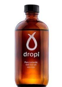 Dropi Aceite de Hígado de Bacalao Islandés Puro - Virgen Exceso 220