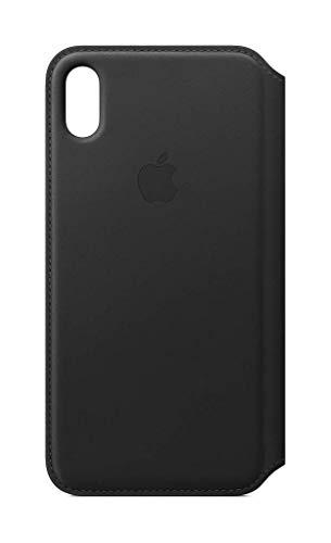 Apple Leder Folio (IphoneXs Max) - Schwarz Schwarz Leder Iphone