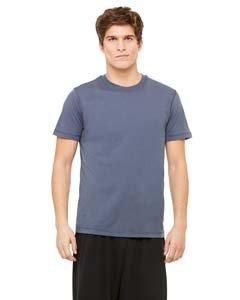 Unisex Dri-Blend Short-Sleeve T-Shirt SLATE XS (Microfiber-t-shirt Sleeve)