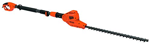 BLACK+DECKER PH5551-QS - Cortasetos de pértiga de 550W, 51 cm, 19 mm