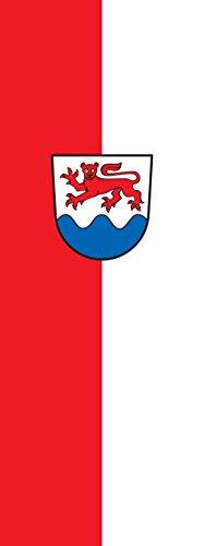 magFlags Drapeau Wellendingen | portrait flag | 6m² | 400x150cm