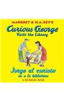 Jorge El Curioso Va a la Biblioteca/Curious George Visits the Library (Bilingual Edition) (Curious George: Level 1)