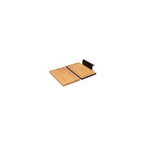 Barbecook ZIJTAFEL Table d'appoint GO, Marron, 35x10x22 cm