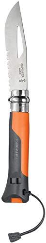 Opinel Erwachsene Nr. 8 Outdoor Orange Taschenmesser, Uni Preisvergleich