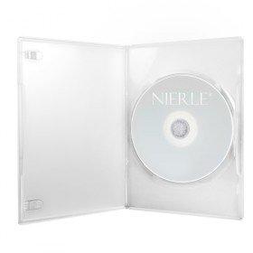 Amaray DVD Hüllen, Slim 7 mm, Transparent, 100 Stück