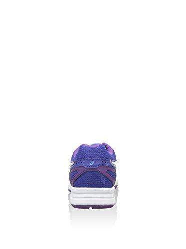 Asics Gel Galaxy 8 Gs Scarpe da Corsa, Bambino, Blu/Viola/Bianco, 37 Blu/Viola/Bianco