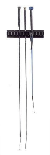 USG Peitsche Rack Kunststoff, 31x 6,5cm, 13-teilig, schwarz