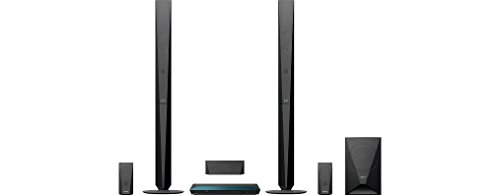 Sony-BDV-E4100-1000-W-Home-Cinema-System-with-Tall-Speakers-Blue-Ray-3D-51-Channel-Surround-Sound-Two-Way-Speaker-Wi-Fi-and-NFC-Black