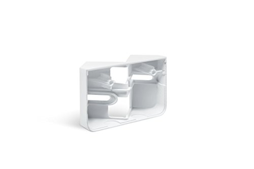 Steinel Eckwandhalter für LED-Strahler XLED home 2 weiß, Zubehör zur Befestigung an Innen- und Außenecke
