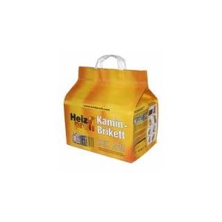 30 kg Kamin-Brikett Heizprofi (3 x 10 kg Papiertüte) -LIEFERUNG KOSTENLOS- saubere Sache