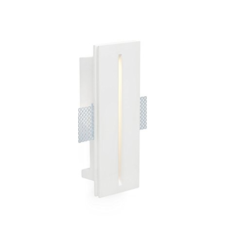 Faro Barcelona Plas 63282 - Empotrable (bombilla incluida) LED, 1W, yeso, color...