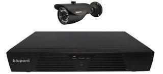 DVR 4CH 1 BULLET CAMERA 160GB HDD KIT KIT-4CH-1B-16-BP By BLUPONT