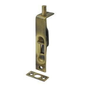 Deltana 4FBS5 HD Solid Brass 4-Inch Flush Bolt by Deltana Iv Hd Flush