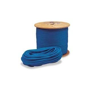 Samson True Blue Climbing Rope 1/2in x 120ft Tensile 7300lb by A.M. Leonard