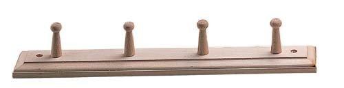 Sauna Peg Bademantel Handtuch Zubehör 4Handtücher Haken Holz Sauna Aufhänger