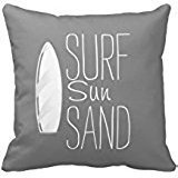surf-sun-sand-pillow-cover-cotton-pillowcase-cushion-cover-gray