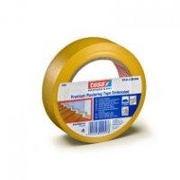 tesa Putzband 4840 Premium, quergerillt, 30 mm x 33 m, gelb VE = 1