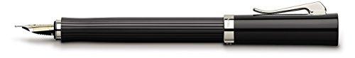 Graf von Faber-Castell Füllfederhalter Intuition kanneliert, schwarz, Federstärke M