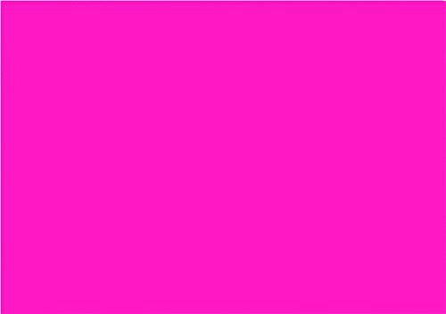 NEON DIN A3, 80 g/qm farbiges Briefpapier, Leuchtpapier, 100 Blatt - Pink (Neon-pink Papier)