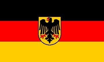État allemand Aigle Drapeau 3 'x2'