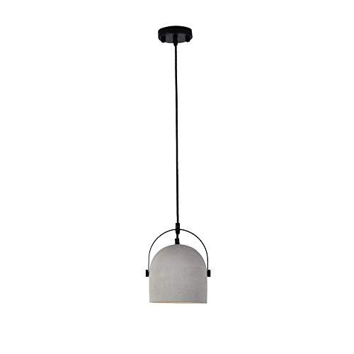 empfangstheke praxis Vintage Pendelleuchte Deckenleuchte aus Metall 16 cm Für E27 Leuchtmittel Beton Hängeleuchte Industrieleuchte Für Esstisch Wohnzimmer Küche Schlafzimmer Büro Praxis
