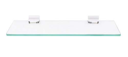 Regis Bathroom Wall Glass Shelf / Rack - Skyglas Series C18 - RG-GS-SG-C18