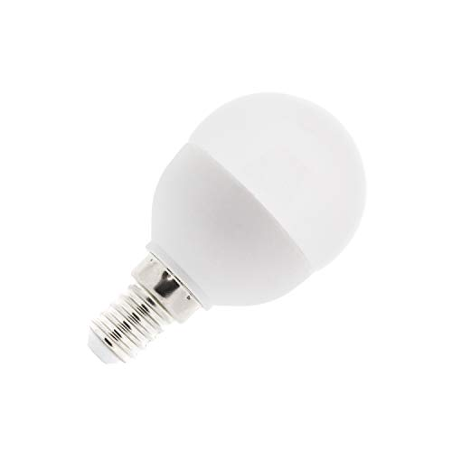 Bombilla LED E14 G45 5W Blanco Neutro 4000K-4500K efectoLED