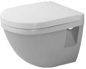 Starck 3 Wandtiefspül-WC Compact,weiß WonderGliss