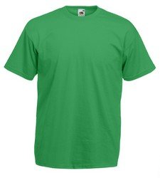 Fruit Of The Loom Herren Kurzarm T-Shirt Small,Kelly Grün (Loom Crew T-shirt Herren)