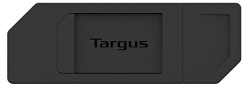 Targus Spy Guard, verschiebbare Webcam-Abdeckung schwarz Schwarz 10-Pack -