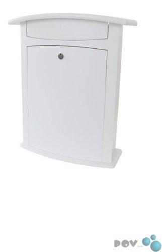 Preisvergleich Produktbild POV® Briefkasten 'Atlanta', Weiß