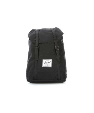 Herschel Supply Co Homme Retreat Straps Backpack, Noir, One Size