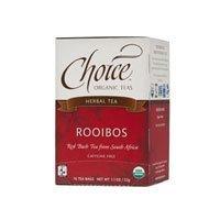 Choice Organic Teas Organic Rooibos Red Bush Tea - 16 Tea Bags (Pack of 6) - Pack Of 6