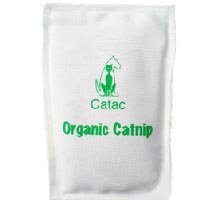 Organic Catnip Sack Cat Toy from Catac