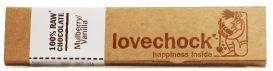 Love Chock Mulberry/Vanilla 100% Raw Chocolate 40g (Case of 12)