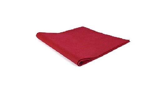 Palucart tovaglie in tnt 100x100 confezione da 100 tovaglie colore bordeaux tessuto non tessuto ideali per la ristorazione