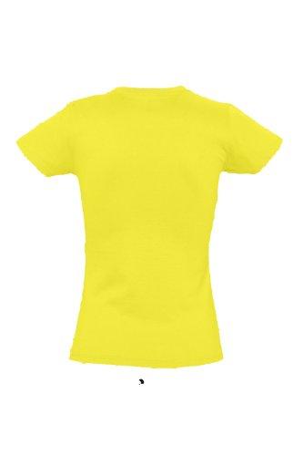 SOL'S -  T-shirt - Basic - Collo a U - Donna - Lemon