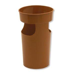 Paraguero plástico marrón