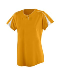 Augusta Sportswear Women'S Diamond Softball Jersey 2Xl Gold/White (Baseball Gold Womens)