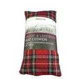 Impressions - Cuscino riscaldante alle erbe, imbottito di grano e lavanda Fantasia scozzese