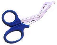 Large Blue 7.5 INCH Tough Cut Utility Bandage Scissors Quality