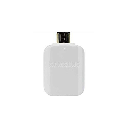 Samsung - EE-UG930 - OTG Adapter/Connector Micro USB to USB - White (Samsung Tablet, Usb Adapter)