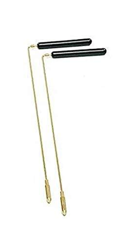 dsnetz Wünschelrute mit Holzgriff 38 cm und Aufsatzspitze | Radiästhesie Tesnsoren Pendel Ruten | Esoterik Geschenke günstig online kaufen