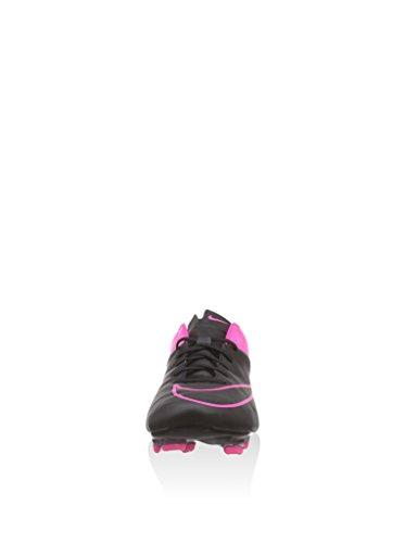 Nike Mercurial Veloce Ii Lthr Fg, Chaussures de football homme Black/Hyper Pink