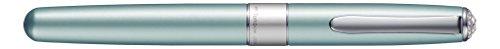 Tombow BW-LZS42 Tintenroller Havanna SW mit Swarovski Kristallen, hellblau
