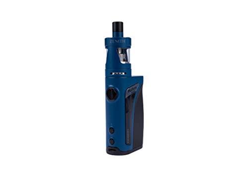 KROMA Zenith Ohne Nikotin Top Filler 75W blau Zenith-Verdampfer mit je 1 Kern Kanthal 0.8 + 1,6 Ohm VW TC AFC für 4ml Liquid 2000mAh USB-Kabel Ersatzmundstück ()