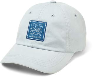 Costa Del Mar-Costa Longboat Patch Hat, Herren, hellblau, Einheitsgröße