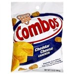 Combos Cheddar Cheese Cracker Cheddarl 6.3oz 178.6g