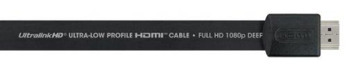 Ultralink UltraFlat 1 meter HDMI digital video cable UFHD-1MB (Kabel Digital Ultralink)