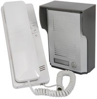 Z9S4- 2 WIRE 16 RINGER IP44 DOOR PHONE INTERCOM SYSTEM WITH BACKLIT NAMEPLATE